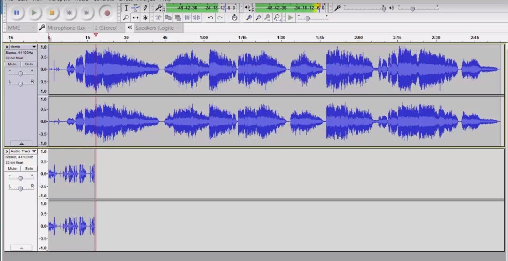 Import Audio2